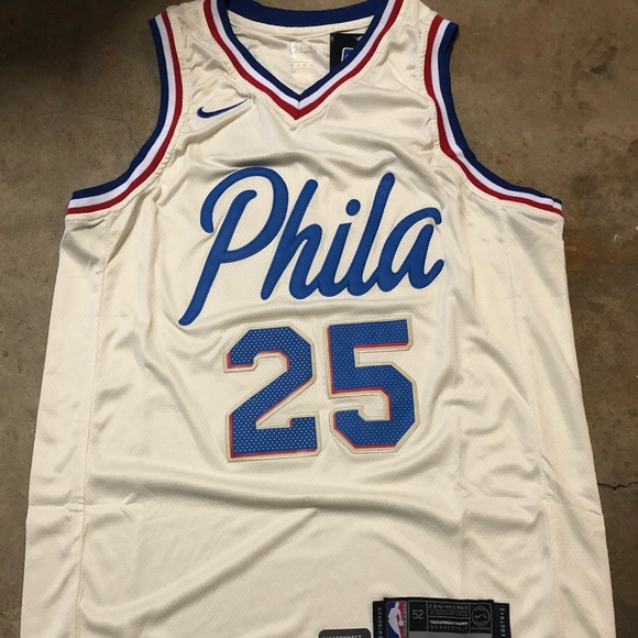 Ben Simmons #25 Sixers city edition jersey